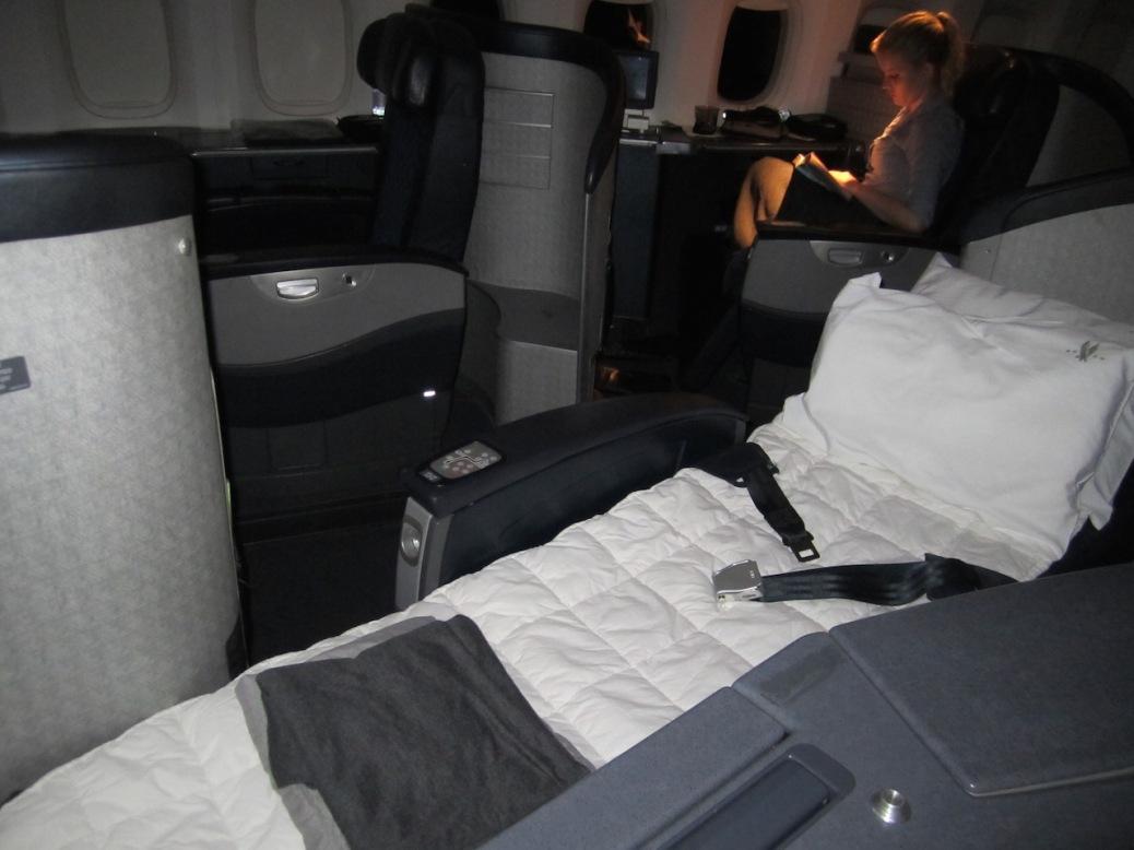 american airlines primeira classe