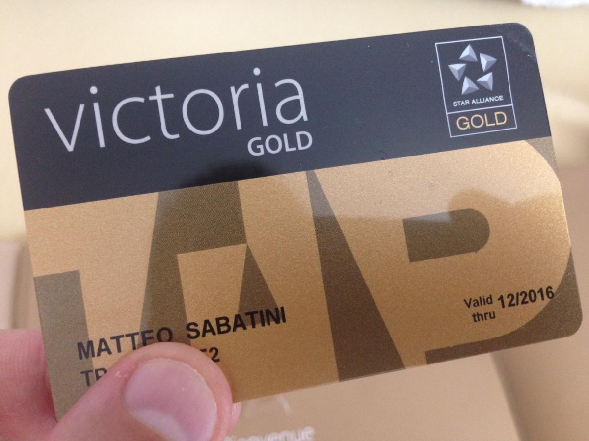 Tap Victoria Gold: kit de bem-vindo e benefícios